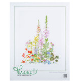 American Wild Flowers Counted Cross Stitch Kit